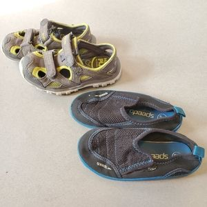 TODDLER SHOES LOT (Speedo & Made 2 Play)